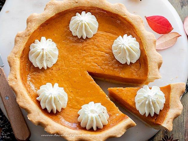 Famoso passito e Pumpkin-pie