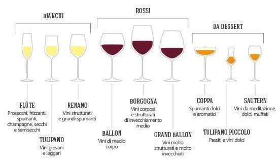 guida bicchiere da vino